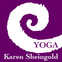 Karen Sheingold - Anusara Inspired Yoga Instructor