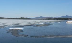Ice on Mooselook